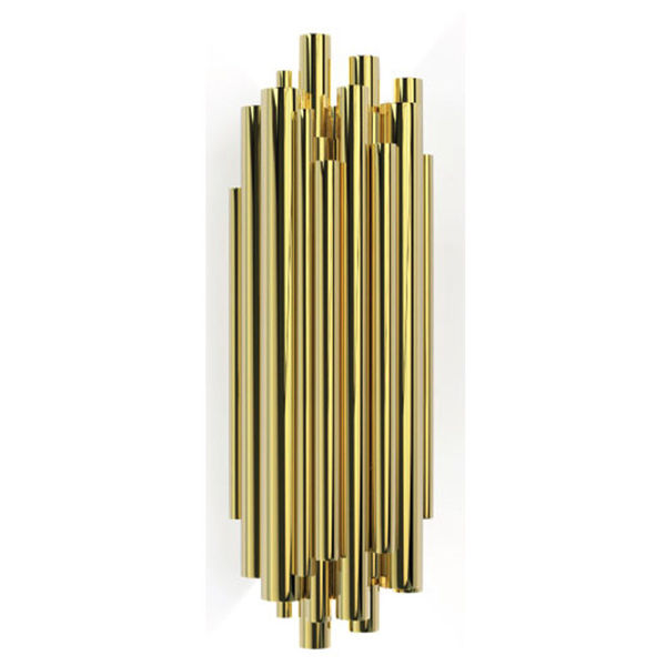Çubuklu Gold Kaplama Aplik resmi