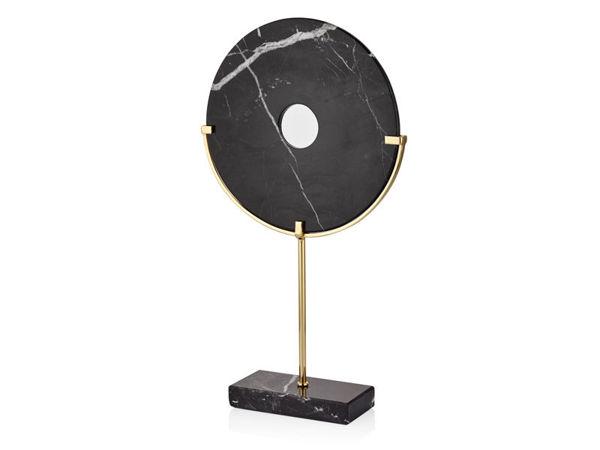 Siyah Mermer Disk resmi