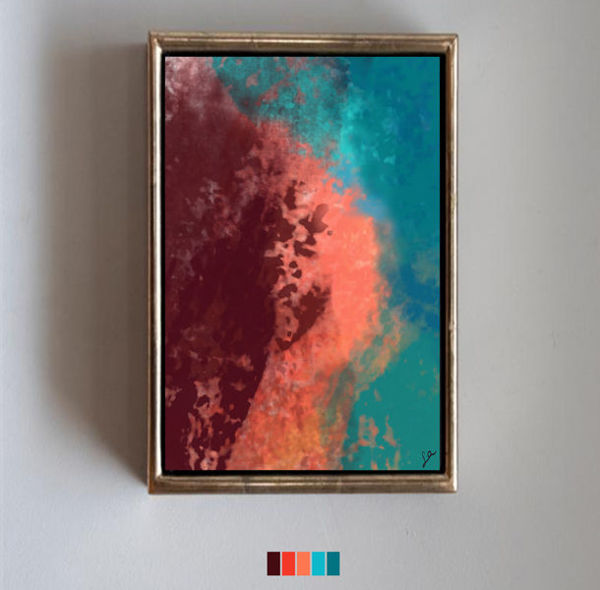 Colorful Clouds resmi