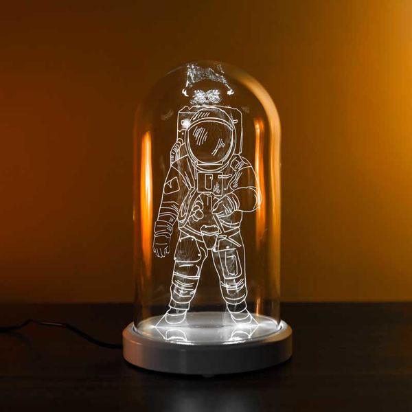 Astronot Cam Fanus Lamba resmi