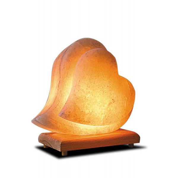 Çift Kalp Tuz Lamba resmi
