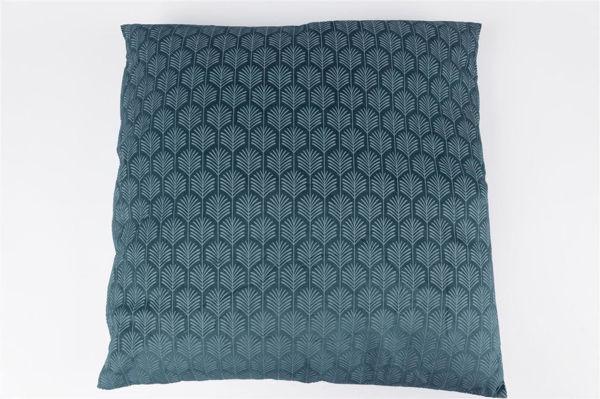 Mavi Desenli Yastık resmi