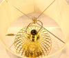 Gold Metal Telli Küre Abajur resmi