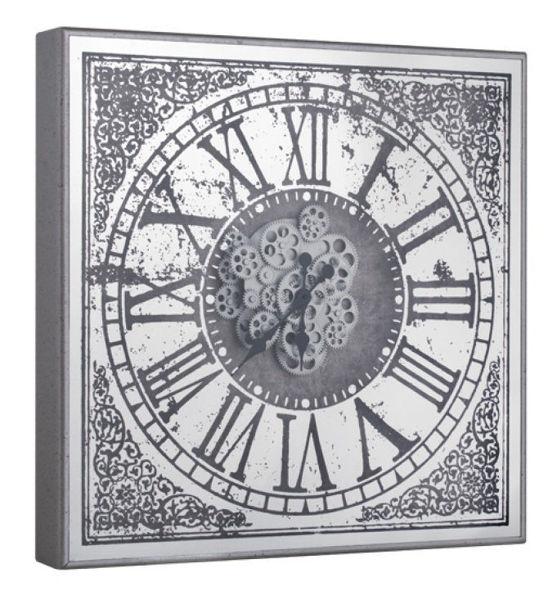 Roma Rakamlı Çarklı Duvar Saati resmi